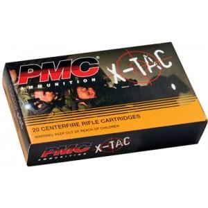 PMC Ammunition X-Tac .223 Remington/5.56 NATO Full Metal Jacket Boat Tail, 55 Grain (20 Rounds) - 5.56X