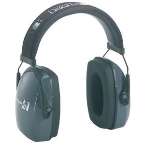 Howard Leight/Sperian Electronic Hearing Protection Earmuffs Black/Blue Finish R01524