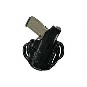 "Desantis Gunhide 1 Thumb Break Scabbard Right-Hand Belt Holster for Smith & Wesson Bodyguard .38 in Black Leather (2"") - 001BAU8Z0"