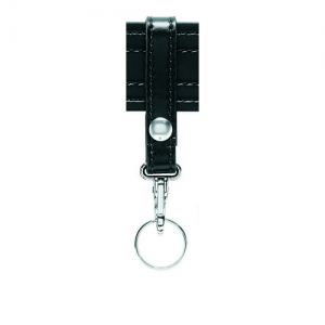Safariland Single Snap Key Ring in Black Plain - 169S-2