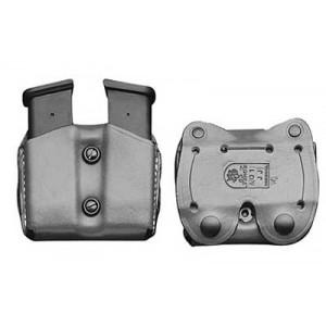 Desantis Gunhide Double Magazine Pouch Magazine Pouch in Black Leather -