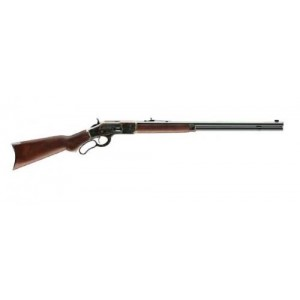 """Winchester 1873 .45 Colt Sporter CCH 13-Round 24"""" Lever Action Rifle in Polished Blued - 534228141"""