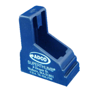 ADCO ST5 Super Thumb 380ACP Double Stack Speedloader Black Finish Poly