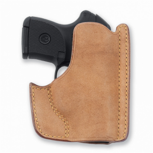 Galco International Pocket  Right-Hand Pocket  Holster for Ruger LCP in Natural (W/ CTC Laserguard) - PH486