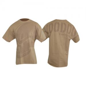 Voodoo Skull Men's T-Shirt in Sand - X-Large