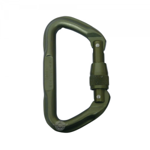 5ive Star - 7000 Series Tactical Locking D Carabiner, Foliage