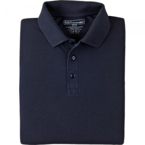 5.11 Tactical Professional Men's Short Sleeve Polo in Dark Navy - 2X-Large