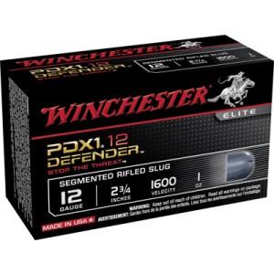 "Winchester Elite Segmenting PDX1 Defender .12 Gauge (2.75"") Slug (Segmented) Lead (10-Rounds) - S12PDX1S"