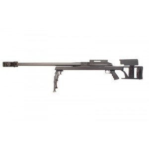 "Armalite Ar50, Bolt Action, 50bmg, 30"" Barrel, Black Finish, 15 Minute Of Angle Scope Rail, Includes Bipod And Adapter 50a1bggg"