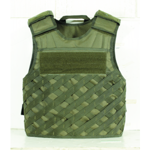 F.A.S.T. Vest w/ new Universal Lattice Molle Color: OD Green Size: Medium-XLarge