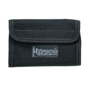 "Maxpedition Spartan Wallet, 5.5""x3.5""x0.5"", Khaki 0229k"