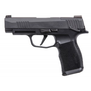 "Sig Sauer P365 XL 9mm 12+1 3.7"" Pistol in Black Nitron (XRAY3 Night Sights + Manual Safety) - 365XL-9-BXR3-MS"