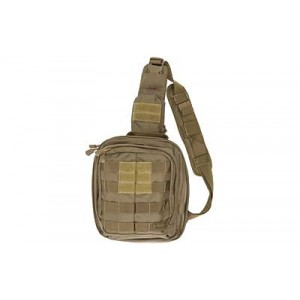 5.11 Tactical Rush MOAB 6 Waterproof Sling Backpack in Sandstone - 56963