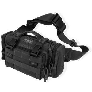 Maxpedition Proteus Waterproof Sling Backpack in Black 1000D Nylon - 0402B