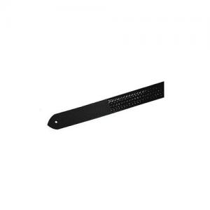 Boston Leather Velcro Tip Garrison Belt in Black Plain - 38