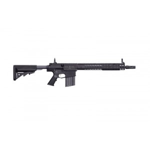 "Knights Armament Company Advanced Precision .308 Winchester/7.62 NATO 30-Round 16"" Semi-Automatic Rifle in Black - 31184"