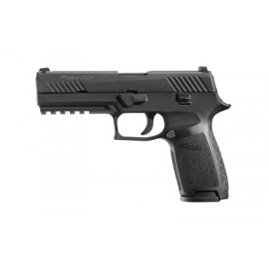 "Sig Sauer P320 Full Size .40 S&W 10+1 4.7"" Pistol in Black Nitron (Internal Safety System) - 320F40B10"