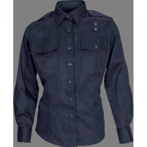 5.11 Tactical PDU Class B Women's Long Sleeve Uniform Shirt in Midnight Navy - X-Small