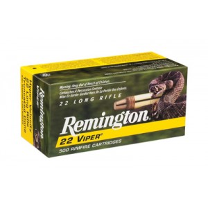 Remington Viper .22 Long Rifle Truncated Cone Solid, 36 Grain (100 Rounds) - 1900