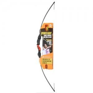 Barnett Sportflight Recurve Bow Set w/Target Arrows/Finger Tab & Arm Guard 1073