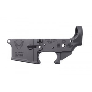 Spike's Tactical Stls018 Fire/safe, Stripped Lower, Semi-automatic, 223 Rem, 556nato, Black Finish, St-15 With Fire/safe Markings Stls018
