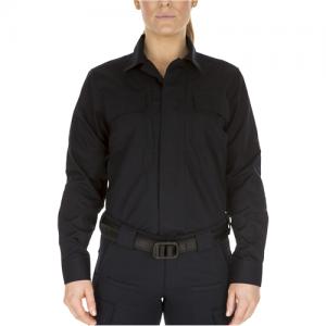 Women's Long Sleeve Taclite TDU Shirt Color: Dark Navy Size: Small