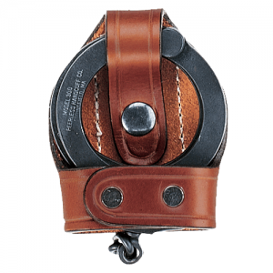 603 Bikini Hinged Handcuff Case Color: Black