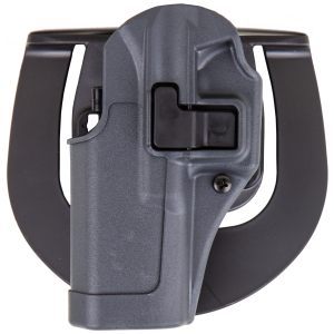 """Blackhawk Serpa Sportster Left-Hand Paddle Holster for Smith & Wesson M&P in Grey (5"""") - 413525BKL"""