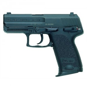 "Heckler & Koch (HK) USP40C .40 S&W 10+1 3.58"" Pistol in Blued (V1) - 704031A5"