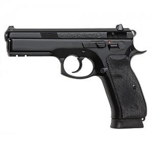 """CZ 75 SP-01 9mm 18+1 4.7"""" Pistol in Black - 91152"""