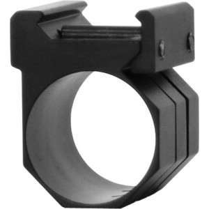 "Ncstar One Piece 1"" Rings and Weaver Mount for Light or Laser Black Finish MWM"