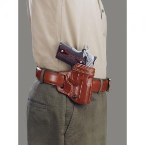 Galco International Avenger Right-Hand Belt Holster for Glock 26 in Black - AV286B