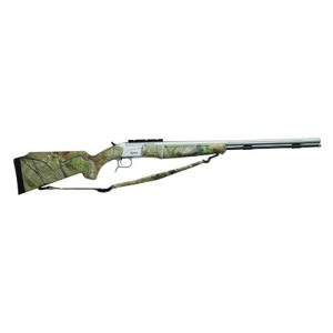 CVA 45 Cal Muzzleloader 209 Primer Stainless Barrel Realtree All Purpose Green CR4013S