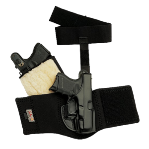 """Galco International Ankle Glove Right-Hand Ankle Holster for Sig Sauer P290 in Black (2.9"""") - AG646"""