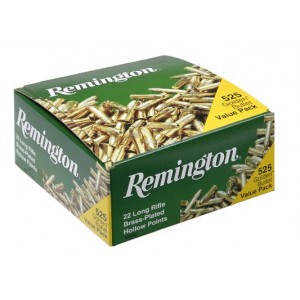 Remington Golden Bullet .22 Long Rifle Plated Hollow Point, 36 Grain (5250 Rounds) - 1622C