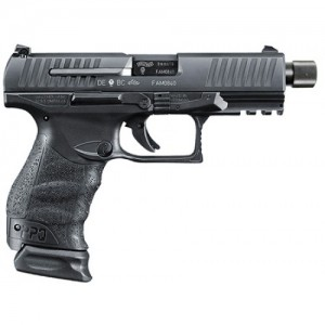 "Walther PPQ M2 Navy 9mm 17+1 4.6"" Pistol in Tenifer Black - 2796082"
