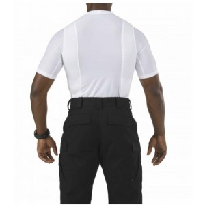 5.11 Tactical Crew Neck Men's Holster Shirt in White - X-Large