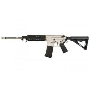 """Black Rain Ordinance Nor-Guard .223 Remington/5.56 NATO 30-Round 16"""" Semi-Automatic Rifle in Nickel Boron - BRO-PG9"""