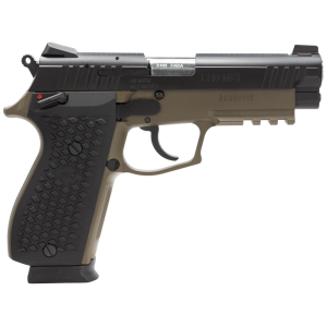 "LionHeart LH9 9mm 15+1 4.1"" Pistol in Brown Cerakote Aluminum Alloy (MKII) - 109MNVKBRN"