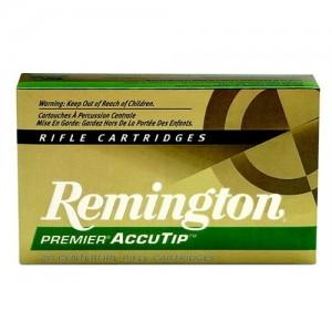 Remington Premier .22-250 Remington AccuTip-V, 50 Grain (20 Rounds) - PRA2250RB
