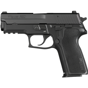"""Pre-Owned Sig Sauer P229 Compact 9mm 15+1 3.9"""" Pistol in Black Nitron (Decocker) - UDE2299B1"""