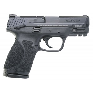 """Smith & Wesson M&P M2.0 Compact 9mm 15-Round 3.6"""" Pistol in Black Armornite (Manual Thumb Safety) - 11694"""