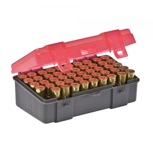 Handgun Ammo Case holds 50 rounds of .41 Mag, .44 Mag and .45 Long Colt Caliber Bullets