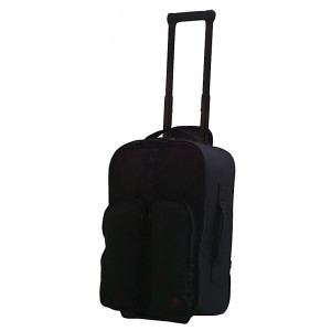 TacProGear Tactical Luggage Rolling Suitcase in Black Nylon - BTRLB2