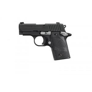 "Sig Sauer P238 Micro-Compact Nightmare .380 ACP 6+1 2.7"" Pistol in Black Nitron (SIGLITE Night Sights) - 238380NMR"