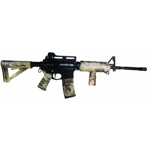 Matrix Diversified Ind Magpul ComSpec AR-15 Furniture Kit Highlander Camo MAGCOM47HL