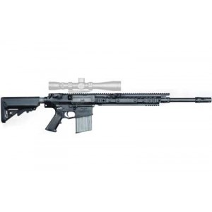 "Knights Armament Company Enhanced Combat .308 Winchester/7.62 NATO 20-Round 20"" Semi-Automatic Rifle in Black - 30289"
