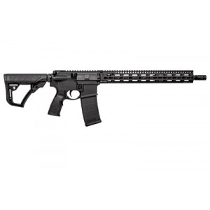 """Daniel Defense M4 .223 Remington/5.56 NATO 30-Round 16"""" Semi-Automatic Rifle in Black - 02-151-30032-047"""