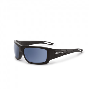 Credence Black w/Mirrored Blue Lenses