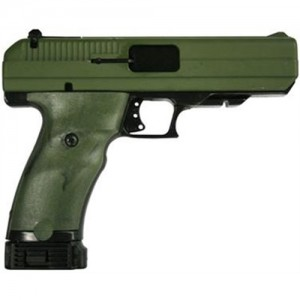 "Hi-Point 45 .45 ACP 10+1 4.5"" Pistol in Olive Drab Green Camo - 34512"